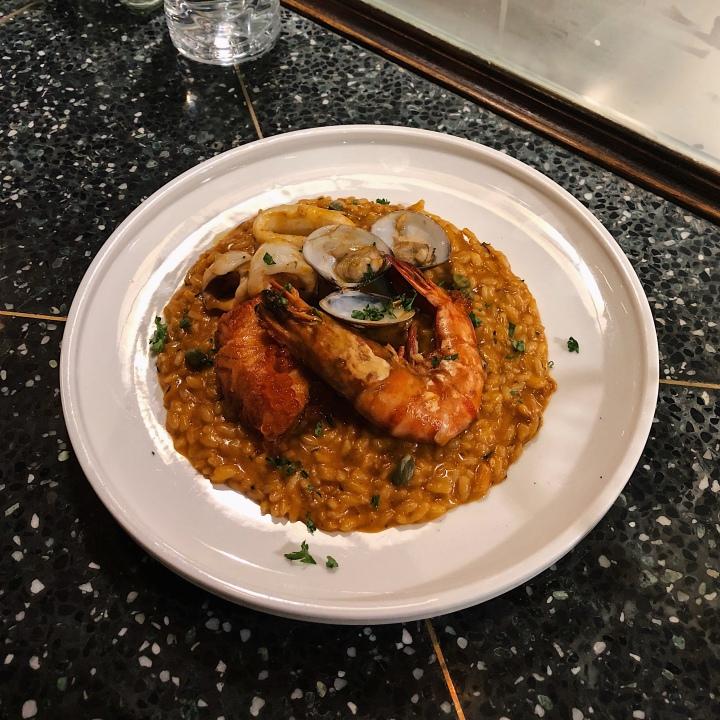 濃厚系龍蝦湯海鮮燉飯