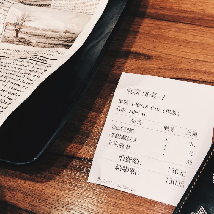 Mr.Lin三明治