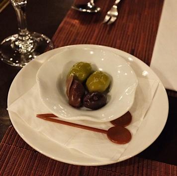 開胃的橄欖